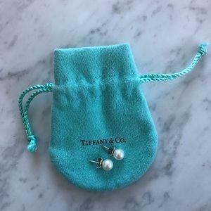 Tiffany & Co Pearl Stud Earrings